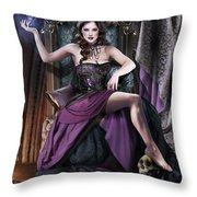 Soul Collector Throw Pillow by Drazenka Kimpel