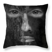 Soul Emerging Throw Pillow by Michael Hurwitz