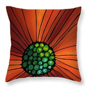 Soul Kiss 2 Throw Pillow by Sharon Cummings