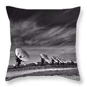 Sound Waves Throw Pillow by Dan Sproul