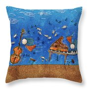 Sounds Blown In The Wind Throw Pillow by Gianfranco Weiss