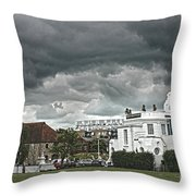 Southampton Royal Pier Hampshire Throw Pillow by Terri  Waters