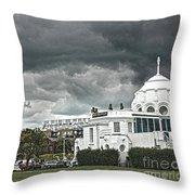 Southampton Royal Pier Hampshire Throw Pillow by Terri Waters