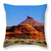 Southern  Utah Throw Pillow by Jeff Swan