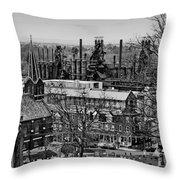Southside Throw Pillow by DJ Florek
