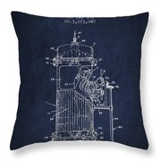 Space Capsule Patent From 1963 Throw Pillow by Aged Pixel