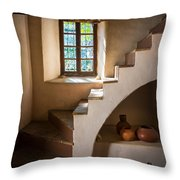 Spanish Governors Palace Throw Pillow by Inge Johnsson