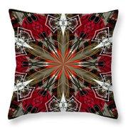 Spatial Awareness Throw Pillow by Diane E Berry