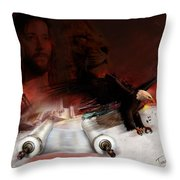 Speed In The Spirit Throw Pillow by Tamer and Cindy Elsharouni