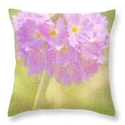 Sphere Florale - 01tt01a Throw Pillow by Variance Collections
