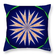Spire Throw Pillow by Alan Look