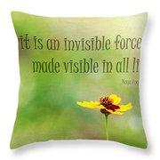 Spirit Throw Pillow by Darren Fisher