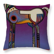 Spirit Horse Throw Pillow by Bob Coonts