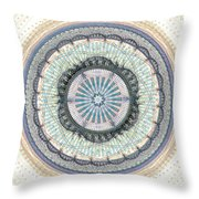 Spiritual Growth Throw Pillow by Anastasiya Malakhova