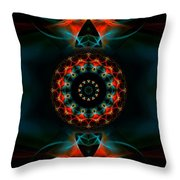 Spiritual Magic Throw Pillow by Hanza Turgul