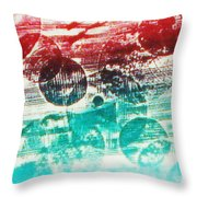 Spirtuality Of The Planet Throw Pillow by Yael VanGruber
