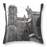 Classic Goth Throw Pillow by FRANCE  ART