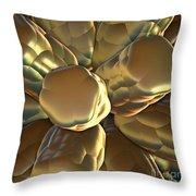 Spores Throw Pillow by Greg Moores