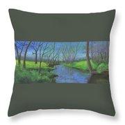 Spring Awakening II Throw Pillow by Garry McMichael