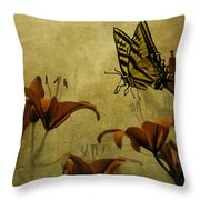 Spring Fever Throw Pillow by Diane Schuster