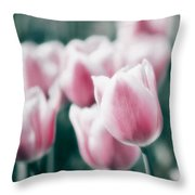Spring In Love Throw Pillow by Angela Doelling AD DESIGN Photo and PhotoArt