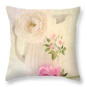 Spring Romance Throw Pillow by Darren Fisher