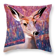 Springtime Colors Throw Pillow by Bob Coonts