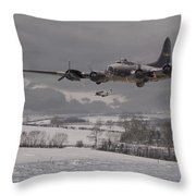 St Crispins Day Throw Pillow by Pat Speirs