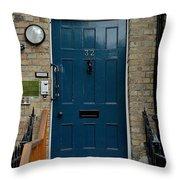 St John's Street Throw Pillow by Joseph Yarbrough