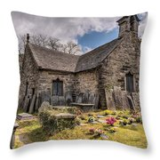 St Michaels Church Throw Pillow by Adrian Evans