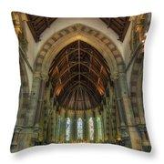 St Peter's Church Vertorama Throw Pillow by Ian Mitchell