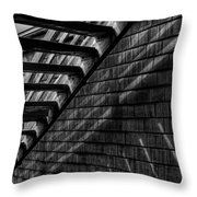 Stairs Throw Pillow by David Patterson