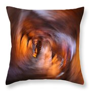 Stalactite Cave Throw Pillow by Doc Braham