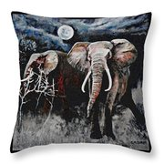 Stand Your Ground Throw Pillow by Michael Durst