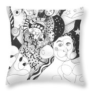 Standing On Solid Ground Throw Pillow by Helena Tiainen
