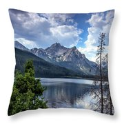 Stanley Lake View Throw Pillow by Robert Bales