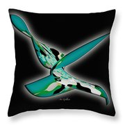Star Bright Throw Pillow by Iris Gelbart