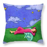 Stargazer Throw Pillow by Sarah Batalka
