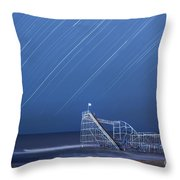 Starjet Under The Stars Throw Pillow by Michael Ver Sprill