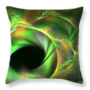 Stellar-wind Bubble Throw Pillow by Kim Sy Ok