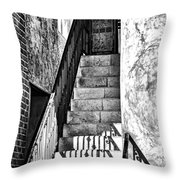 Steps Throw Pillow by Camille Lopez