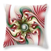 Stimulation Throw Pillow by Anastasiya Malakhova