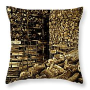 Stockpile  Throw Pillow by Chris Berry