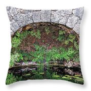 Stone Arch Throw Pillow by Rudy Umans