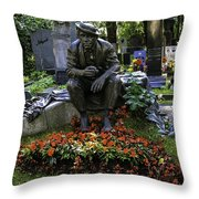 Stoned In Time  Throw Pillow by Madeline Ellis