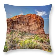 Stones of the West Throw Pillow by Wanda Krack