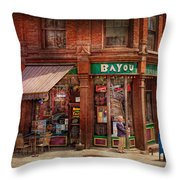 Store - Albany NY -  The Bayou Throw Pillow by Mike Savad