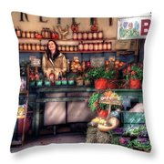 Store - Dreyer's Farm Throw Pillow by Mike Savad