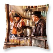Store - The Messenger  Throw Pillow by Mike Savad
