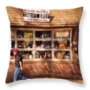 Store -  The Thrift Shop Throw Pillow by Mike Savad